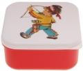snackbox pijl en boog rood 10x10x5 cm