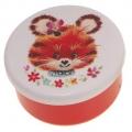 snackboxje tijger rood 7x5 cm