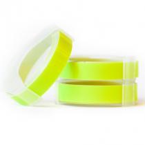 Motex tape voor labelmaker fluor geel