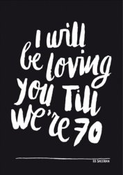 poster A3 I will be loving you