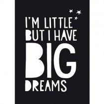poster 50 x 70 cm BIG dreams