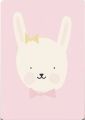 ansichtkaart miss bunny