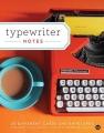 20 typewriter polaroid kaarten