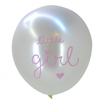 set van 6 ballonnen Little girl