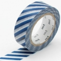 masking tape stripe marine blue