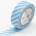 masking tape stripe baby blue