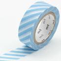 masking tape stripe baby blue