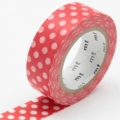 masking tape dot red base