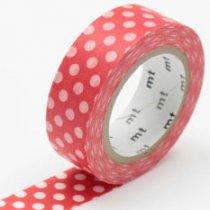 masking tape dot red base
