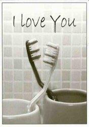 ansichtkaart I love you
