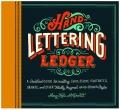 hand lettering ledger