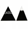 zwarte bergen haakjes