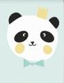 poster A3 king panda