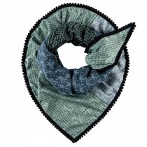 POM sjaal origami blue