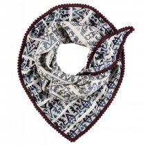 POM sjaal aztec dream blue