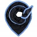 POM sjaal soft spot blue