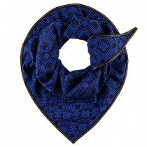 POM sjaal premium diamond blue