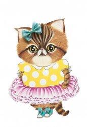 A5 kaart + envelop Little Miss Molly