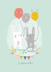 ansichtkaart celebrate