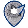 POM sjaal geometric grey