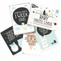milestone baby cards over the moon