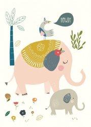 Nikki Upsher kaart howdy olifant
