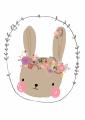 ansichtkaart bunny