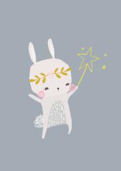ansichtkaart magical bunny