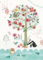 ansichtkaart magical tree