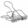 5 x binder clip zilver