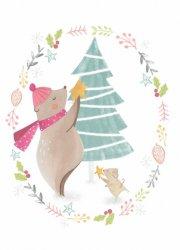 Bianca Pozzi ansichtkaart christmas tree