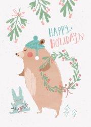 Bianca Pozzi ansichtkaart happy holidays